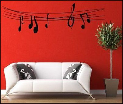 ideas for decorating music room | also visit music theme bedroom ...