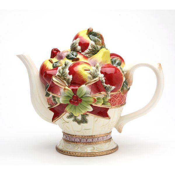You Ll Love The Victorian Harvest Teapot At Wayfair