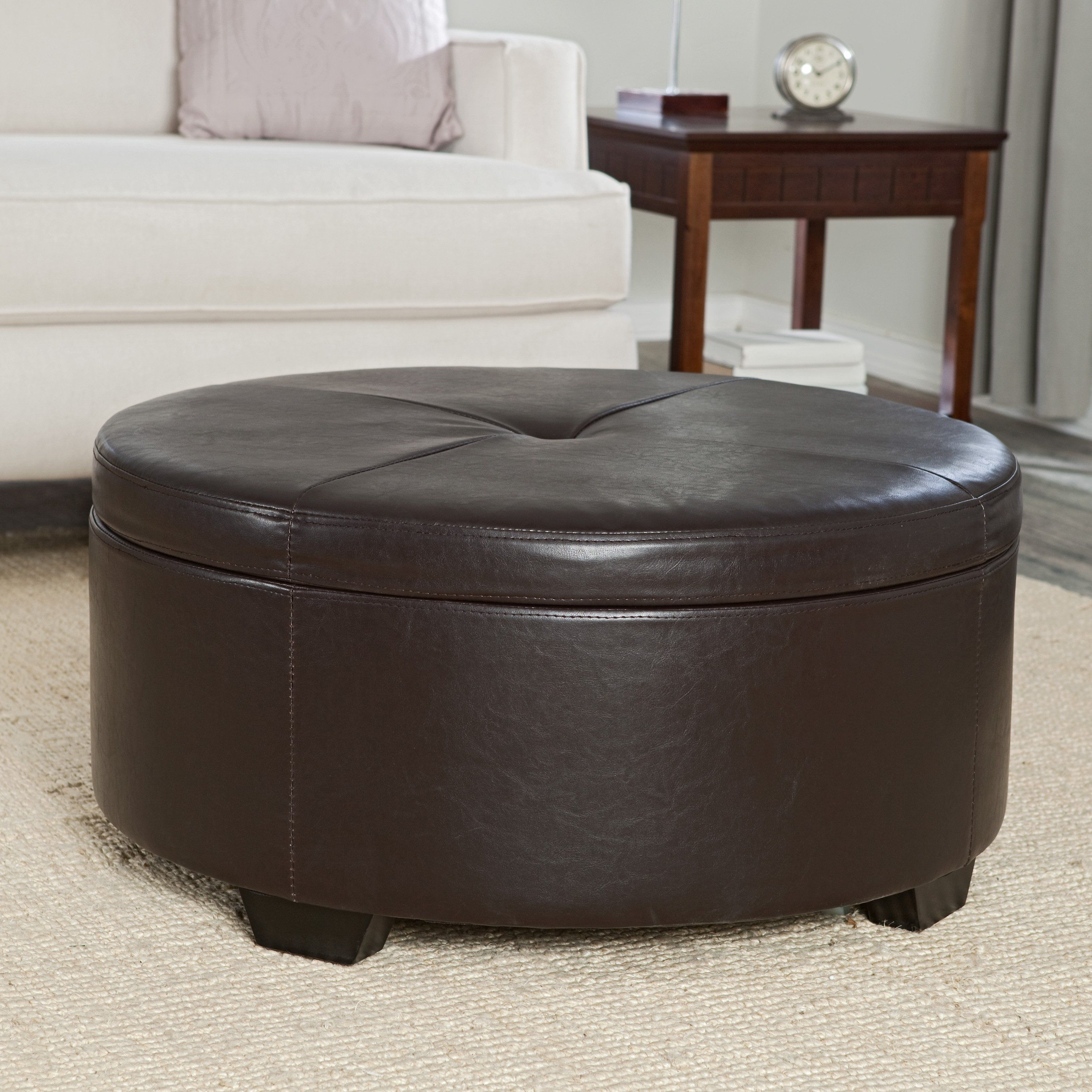 Have to have it corbett coffee table storage ottoman round