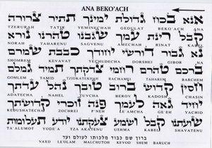 La antigua oración, que fue compuesta por Rabí Nehunia ben Hakanná, (está incluida en todos los libros de rezos) y ha sido revivida por el ...
