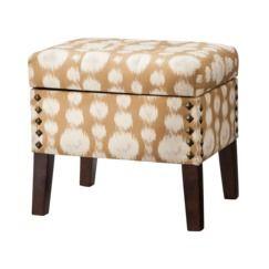 Best Accent Furniture Storage Ottoman With Nailheads Ottoman 640 x 480