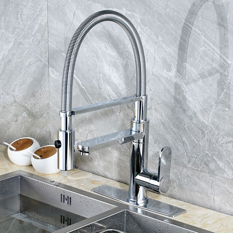 Wholesale And Retail Deck Mounted 2 Way Kitchen Sink Faucet Swivel