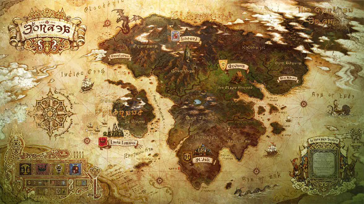 fictional maps : Photo | Nerd alert! | Fantasy map maker ...