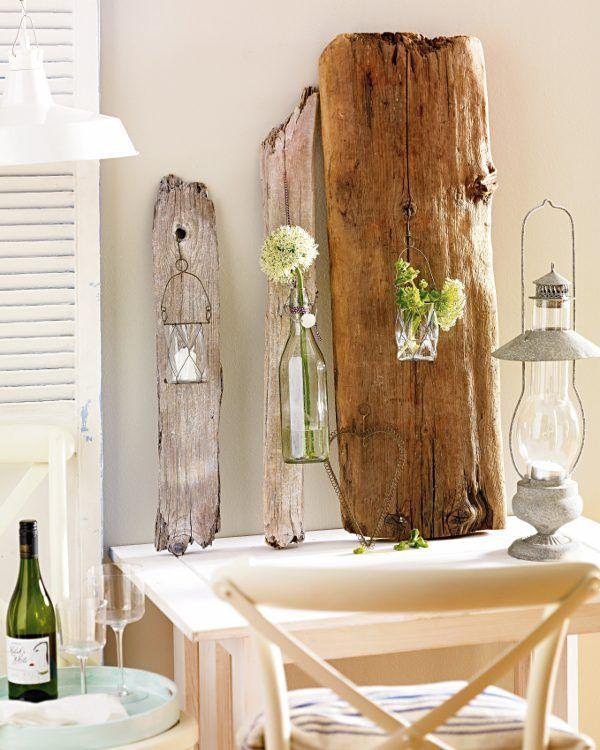 einfache deko aus holz waldschenke pinterest deko aus holz holz und deko. Black Bedroom Furniture Sets. Home Design Ideas