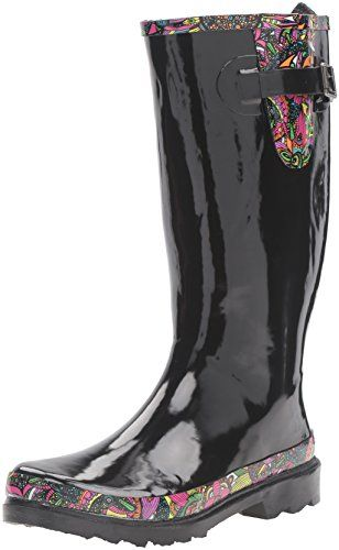 The SAK Womens Rhythm Rain Shoe Black Rainbow Spirit Desert 9 M US -- This is an Amazon Affiliate link. See this great product.