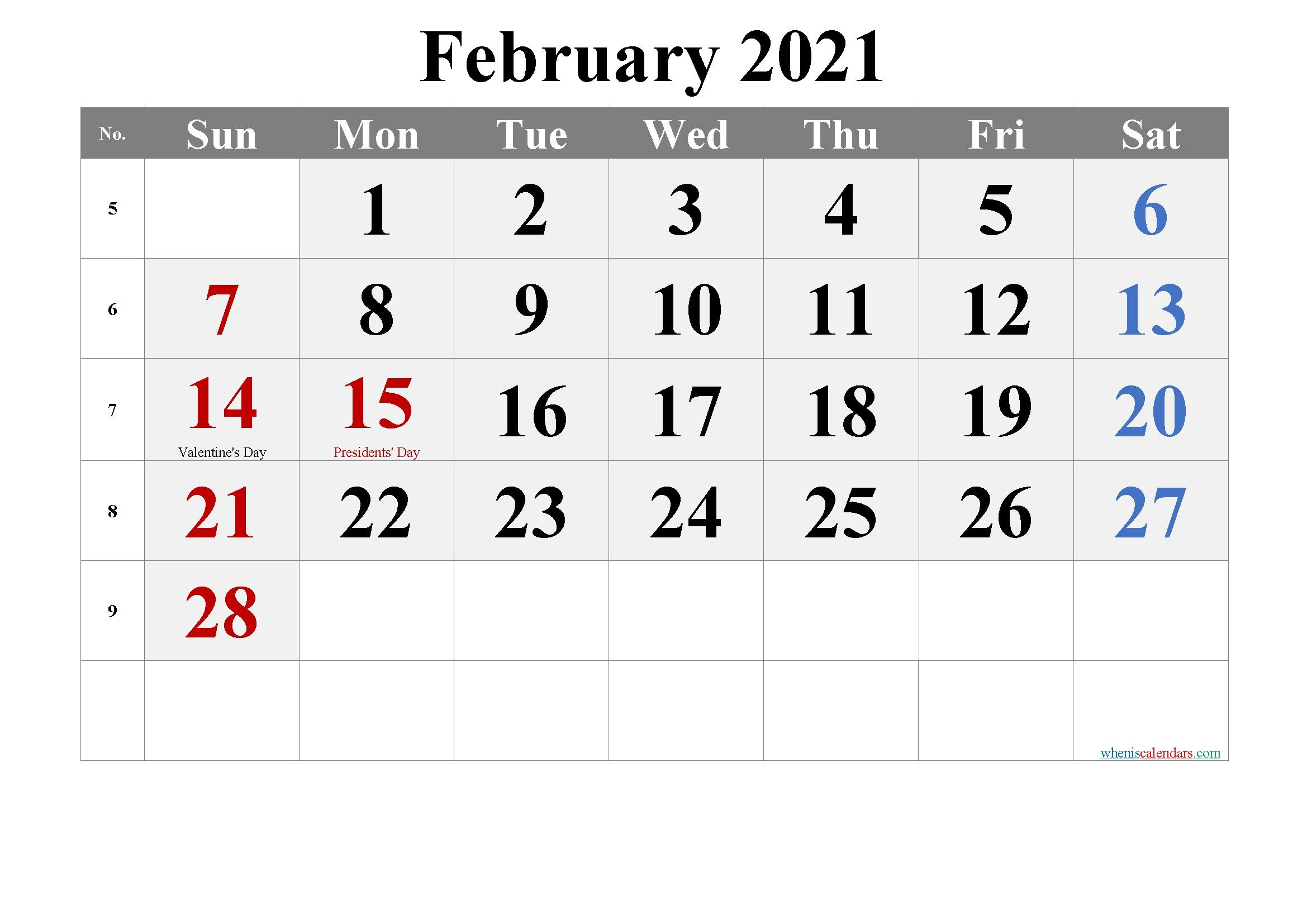 Printable Calendar January February 2021 In 2020 Printable Calendar Design Calendar Printables 2021 Calendar