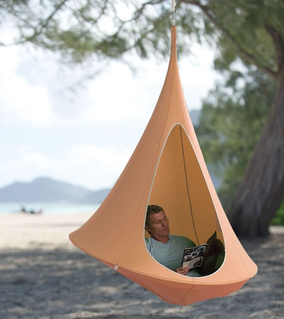Rock & Sway In A Hanging Cocoon   Ok, Like no joke.  I want this.