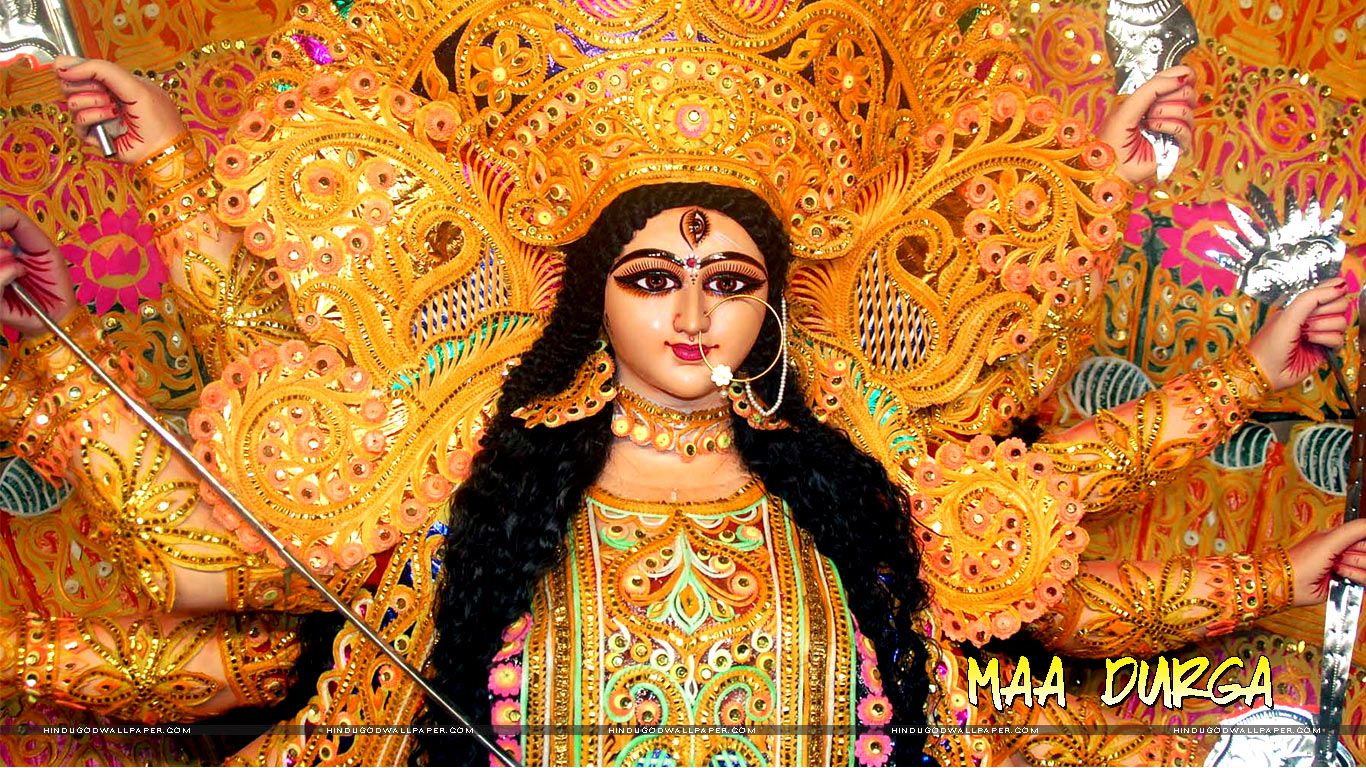Durga Puja Hd Wallpaper For Desktop Free Download Maa Durga
