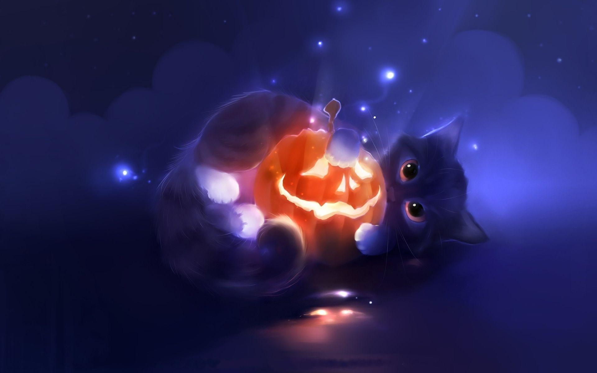милые хэллоуинские картинки птицы, мыши