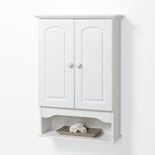 Amazon.com - Zenna Home E9615W, Hartford Wall Cabinet ...