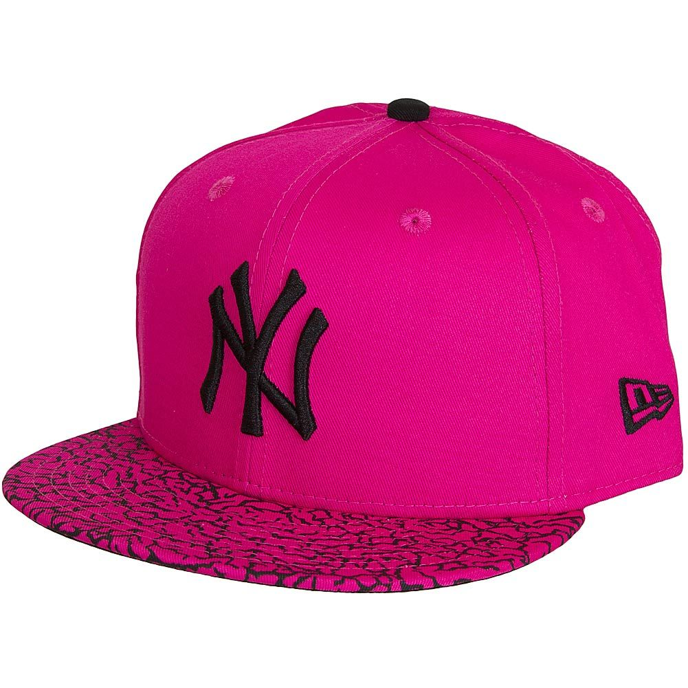 e0f08bf1031 New Era 9FIFTY Women Cap Crackled Bright NY Yankees pink