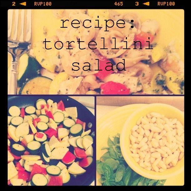 oh, sweet joy!: recipe: tortellini salad