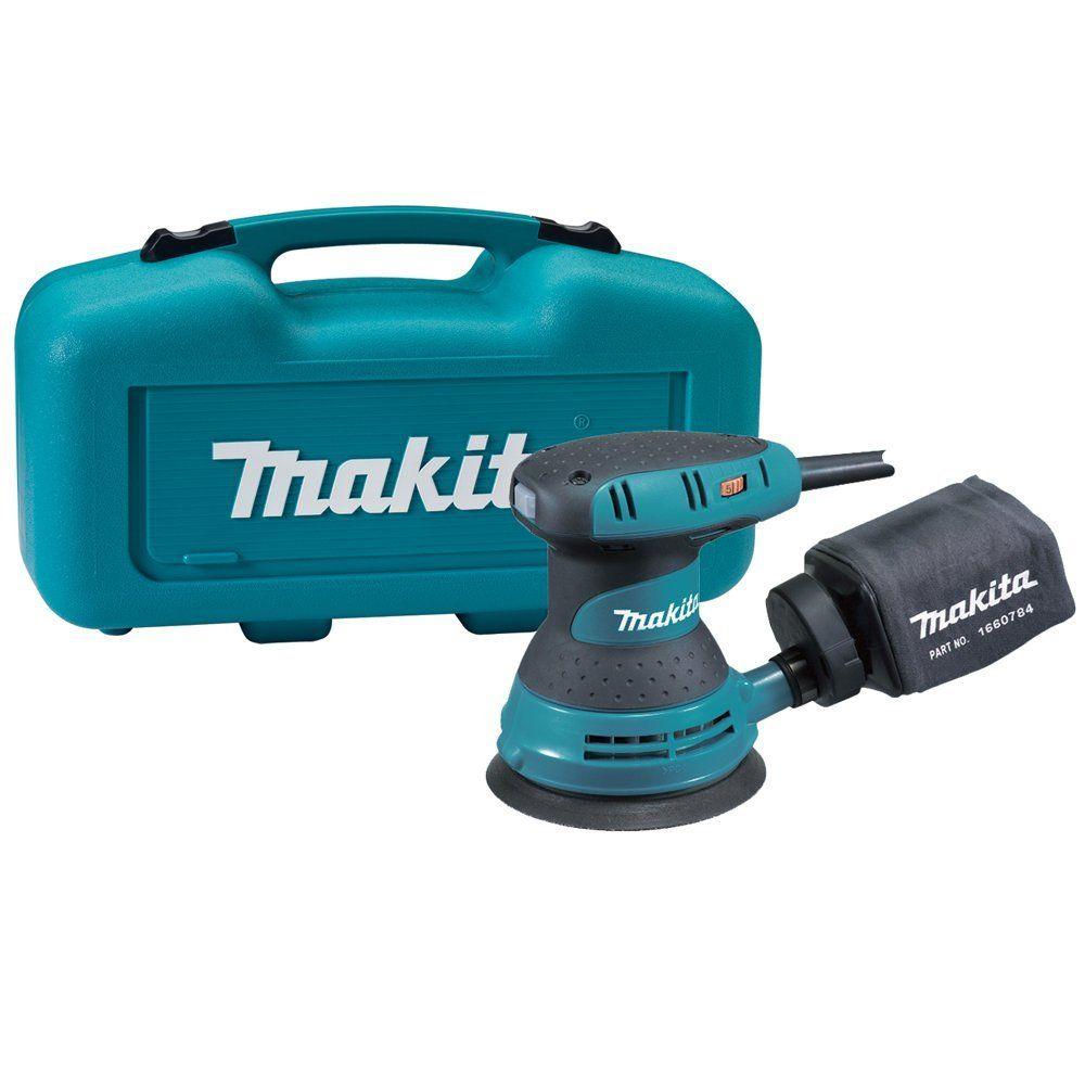 Makita Bo5031k 5 Inch Random Orbit Sander Kit Best Random Orbital Sander Essential Woodworking Tools Tool Case