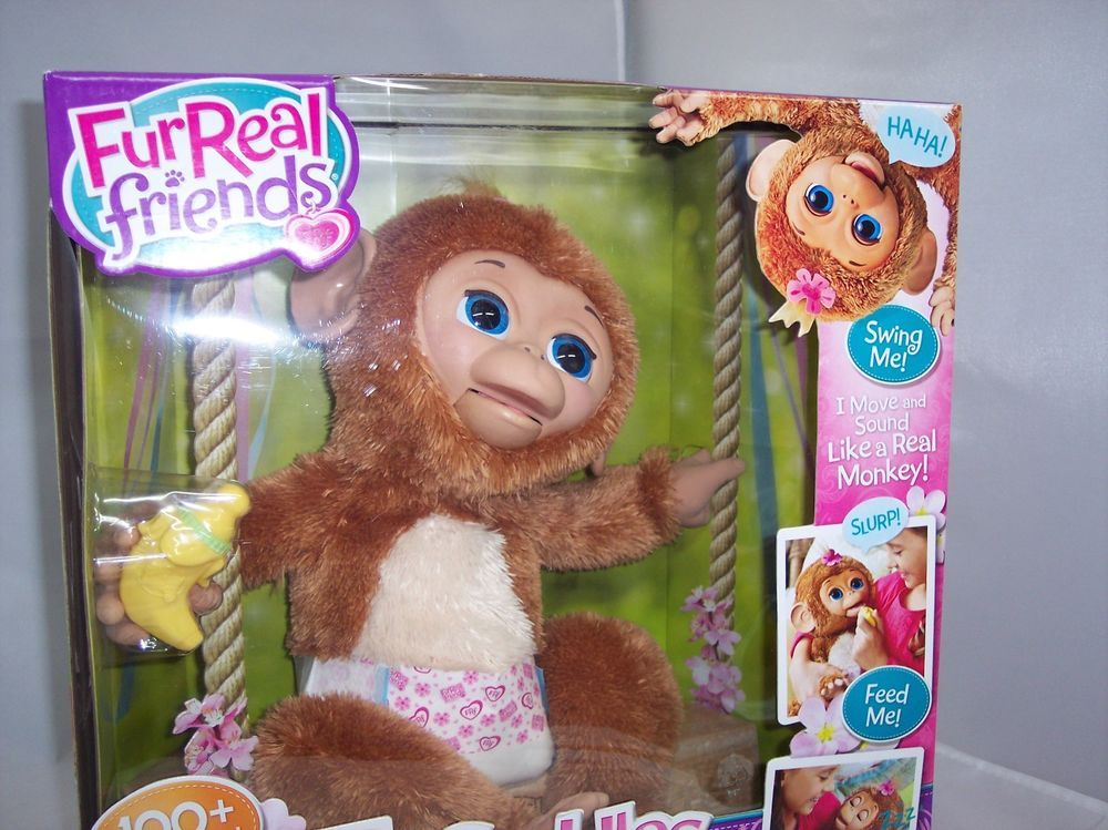 Furreal Friends Cuddles My Giggly Monkey Pet Interactive