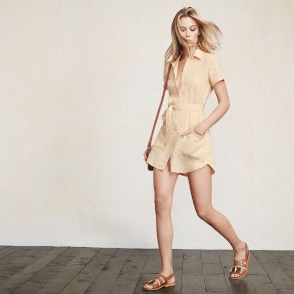 f64604486c Reformation Linen Shirt Dress - Small Excellent condition. Reformation Linen  Shirt Dress - Small. Fits true like an XS S. Reformation Dresses Mini