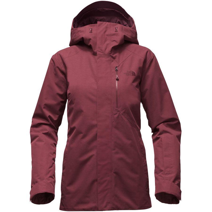 7481d60f47d7 The North Face - NFZ Insulated Jacket - Women s - Deep Garnet Red ...