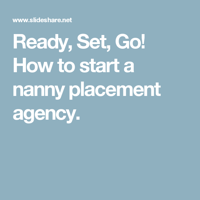 how to start a babysitting agency