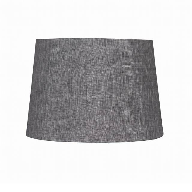 Bed Bath And Beyond Lamp Shades Unique 9Inch Linen Hardback Drum Lamp Shade In Grey  Drum Lamp Shades Design Ideas