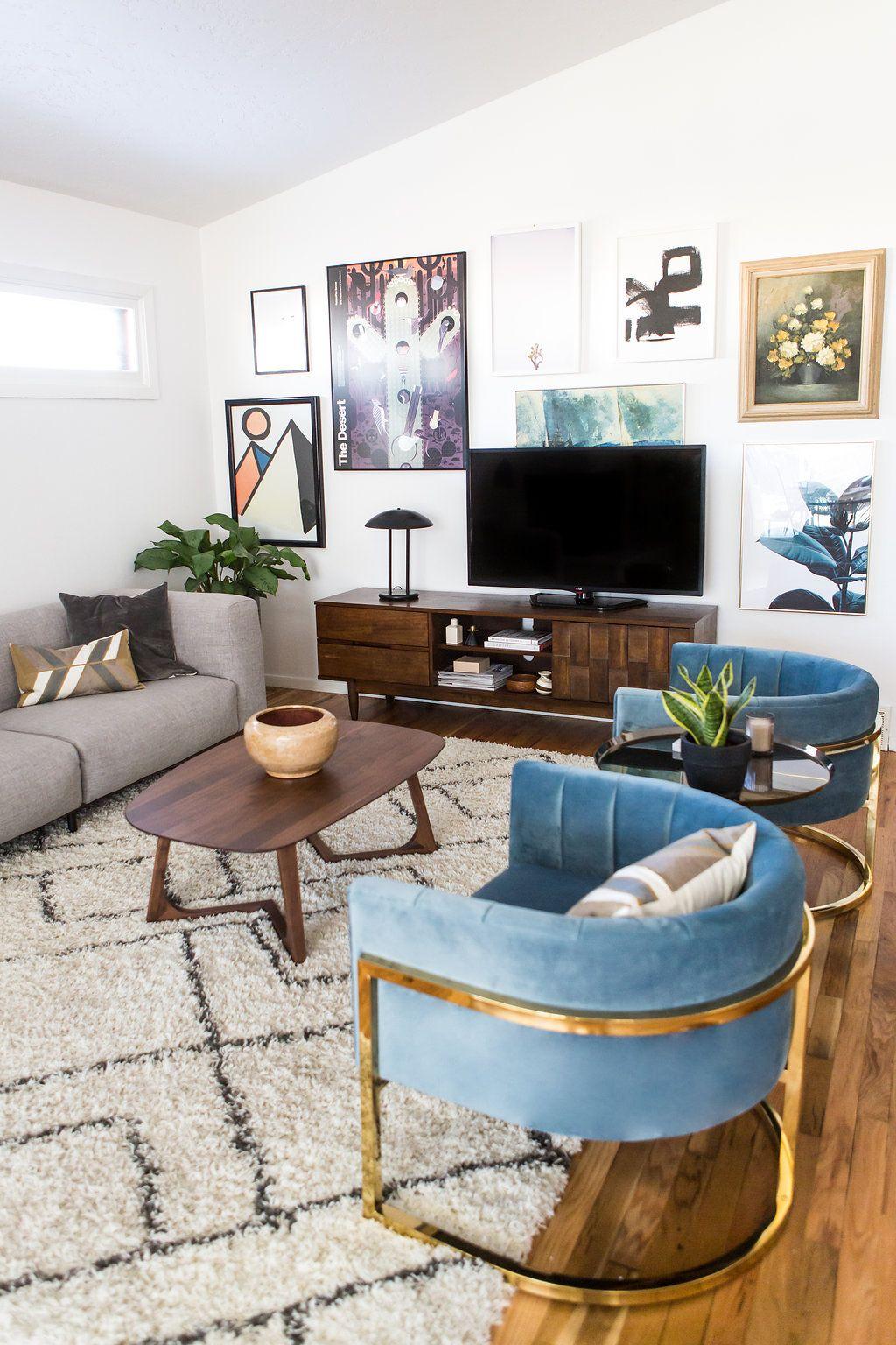 A Refresh With Overstock Via Simply Grove Deco Pinterest  -> Sillones Para Sala De Tv