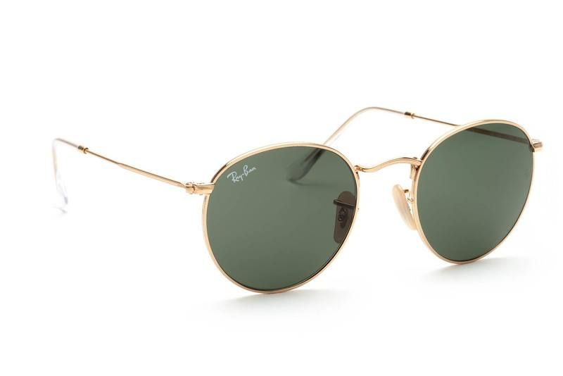Ray-Ban Round Metal RB 3447 001 50  3a9742a4d50