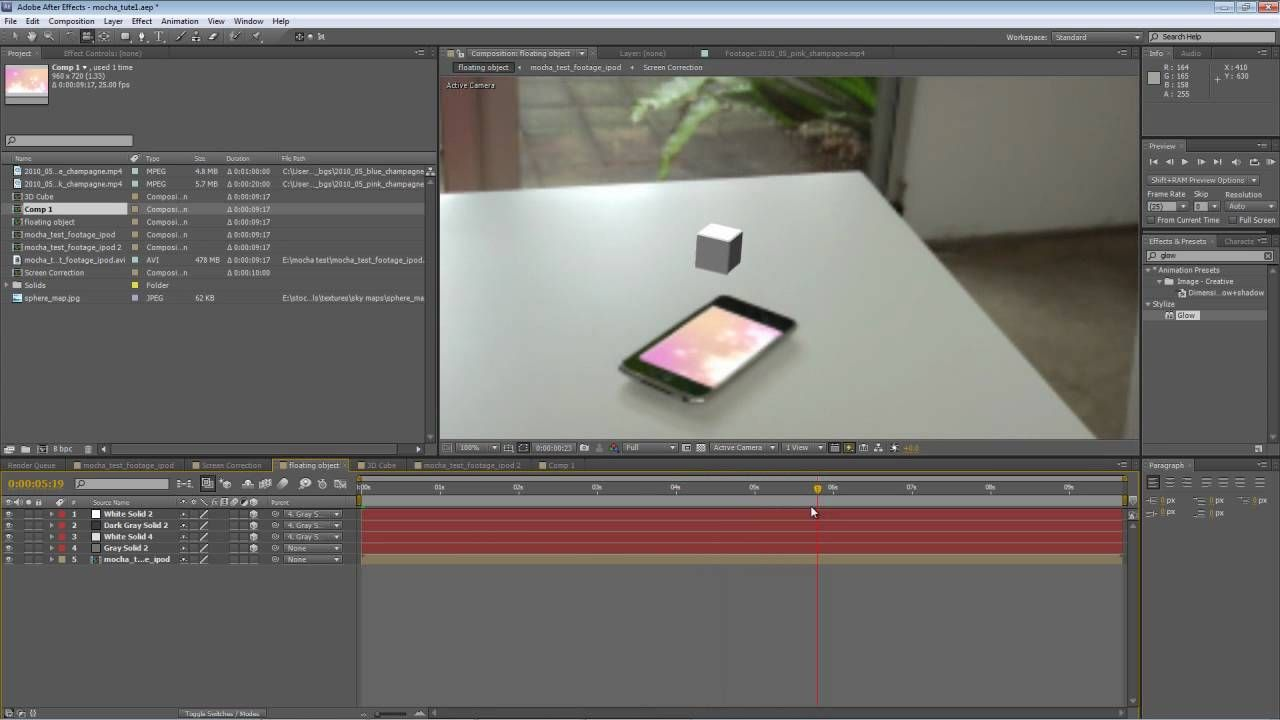 After Effects Tutorial Corner Pinning With Mocha For Cs5 After Effect Tutorial Tutorial After Effects