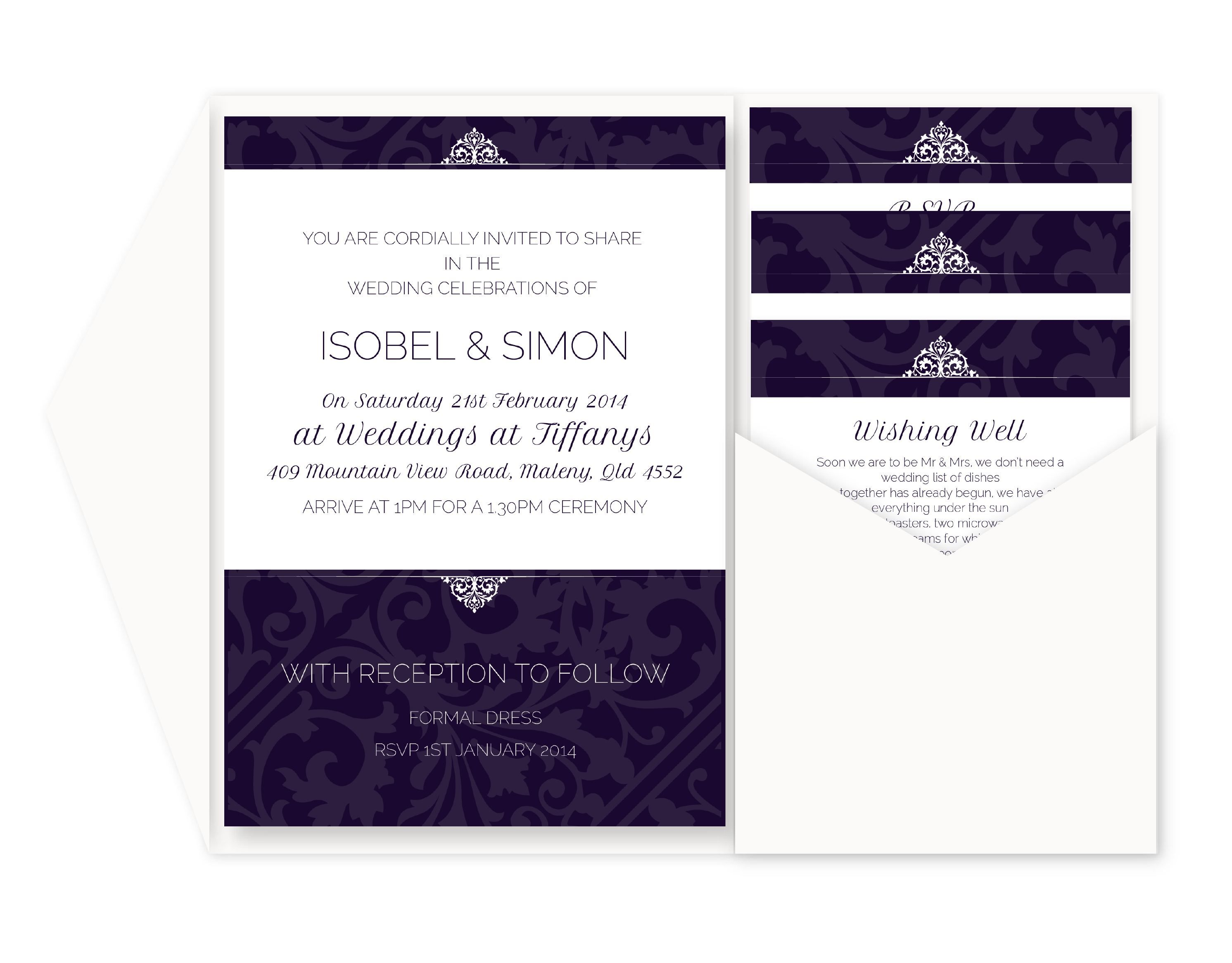 Wedding invitations with rsvp cards included wedding invitations wedding invitations with rsvp cards included wedding invitations and rsvp cards package superb invitation stopboris Image collections