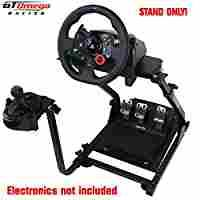 bfdd125e882 GT Omega Steering Wheel stand suitable For Logitech G29 Driving Force Racing  Wheel and Shifter