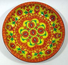 Daher Decorated Ware Tray Made In England Vintage Daher Decorated Ware 1971 Made In England Reg # 951942
