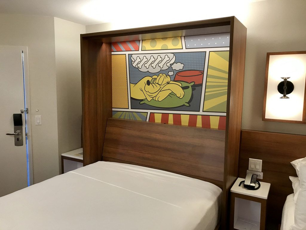 Photos New Modern Style Value Resort Rooms Debut At Disney S Pop Century Resort Wdw News Todaywdw News T Disneys Pop Century Resort Pop Century Modern Style