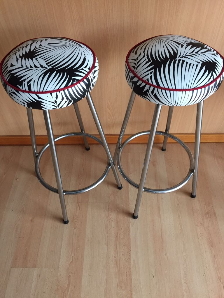 Bar Stools Reupholstered Bar Stool Covers Reupholster Stool Covers