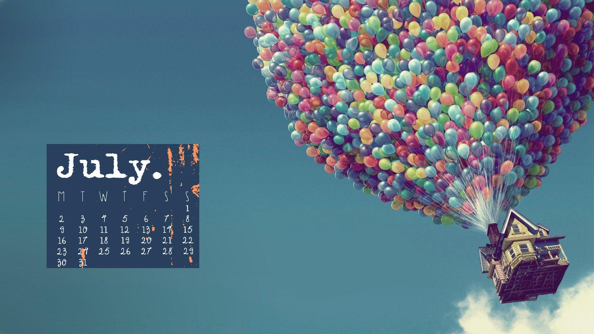 Free July 2018 calendar wallpaper Calendar wallpaper