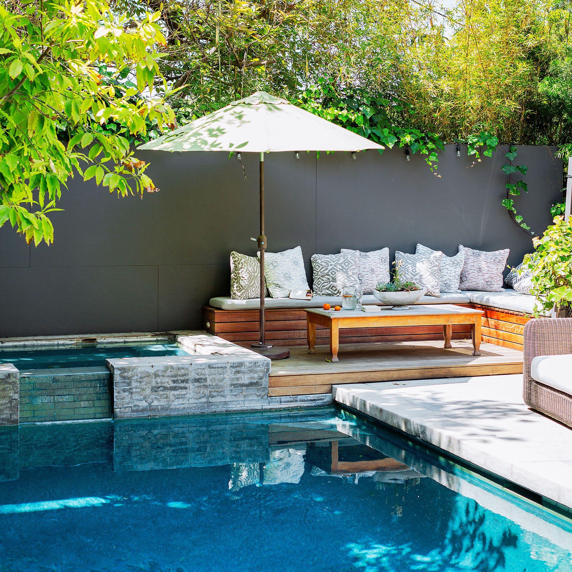 concrete patio with square fire pit. 18 Favorite Outdoor Rooms Concrete Patio With Square Fire Pit E