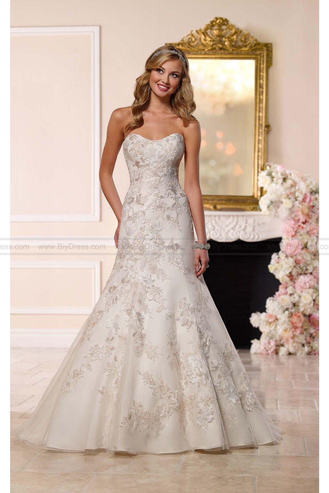Stella york aline wedding dress style wedding dresses ca