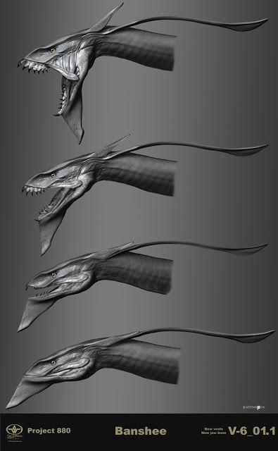 Avatar James Cameron Concept Art, artworks