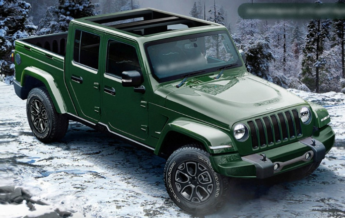 2020 Jeep Wrangler Pickup 2 Door Review, Price and Colors