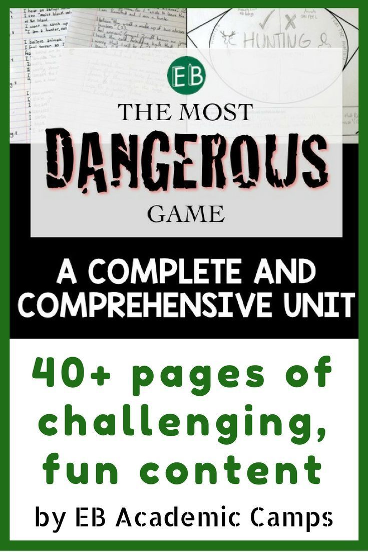 worksheet The Most Dangerous Game Comprehension Worksheet the most dangerous game short story unit games this fun challenging and comprehensive for is a surefire