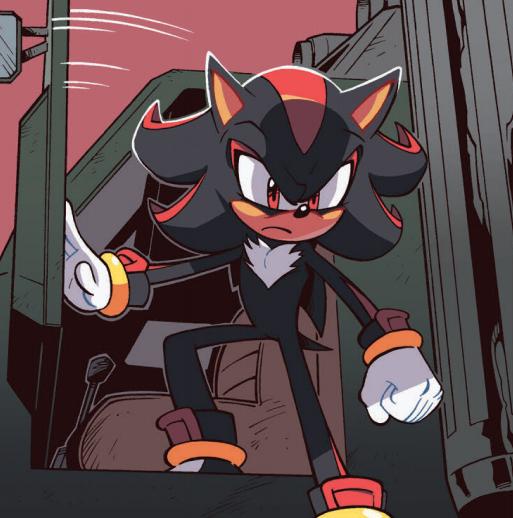 He Drives A Truck Shadow The Hedgehog Sonic And Shadow Hedgehog Art