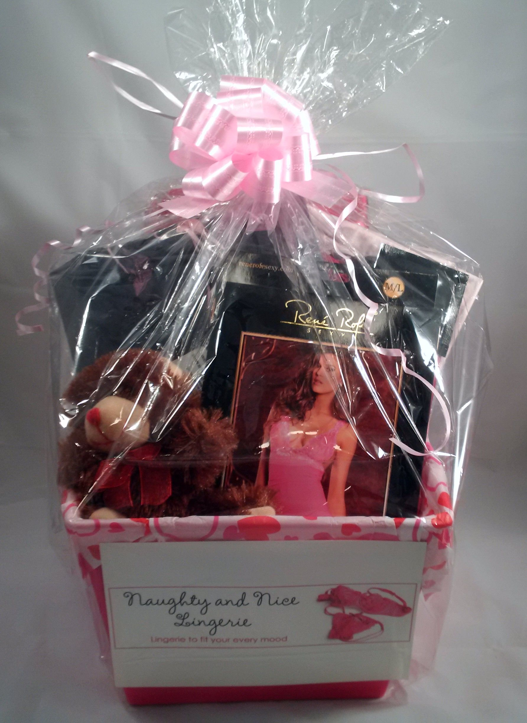 36 Best Naughty And Nice Lingerie Gift Baskets Images On