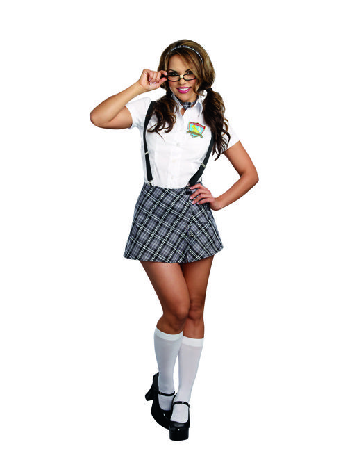25c7886f095 CLEARANCE - Nerdy to Naughty Ladies Schoolgirl Costume in 2019 ...