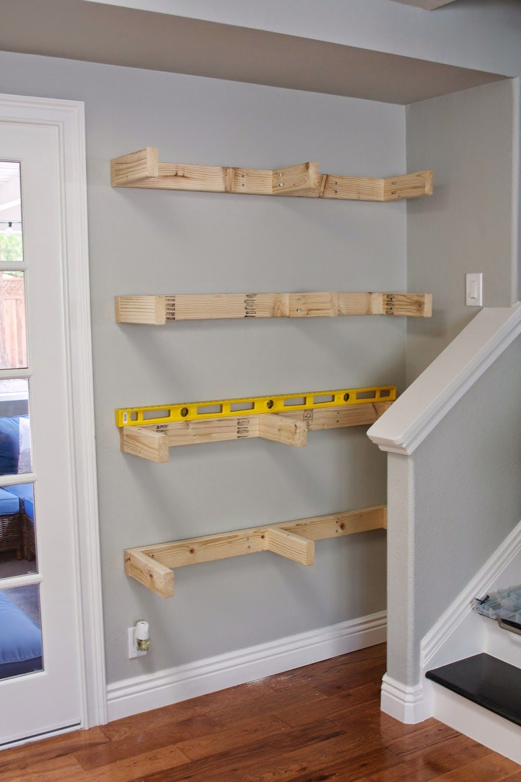 Diy Bookshelf Cheap Small Spaces