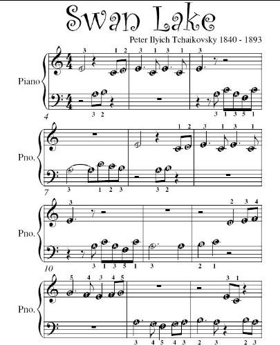 Piano sheet music for beginners discount tchaikovsky music book swan lake beginner piano sheet music pdf by peter ilyich tchaikovsky ebook fandeluxe Images