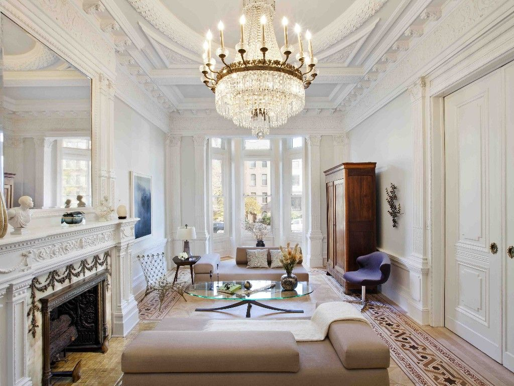 Historic brooklyn brownstone paradiso pinterest for New york brownstone interior design