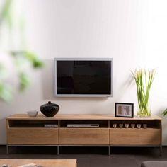 Ligna Oak Tv Unit 2 Doors A Favourite Solid Grey Toned Steel