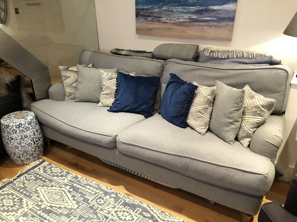 Details About Sofa Com Beautiful Bluebell Grey 3 Seat Sofa Sofa Comfortable Sofa New Living Room