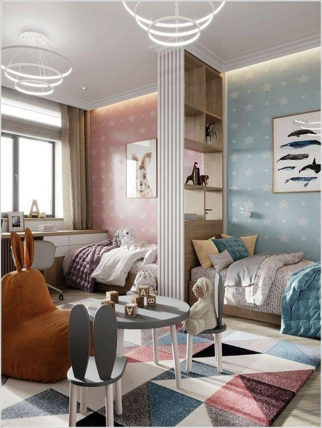 42 Kinderzimmer 2020 Ideen Fur Gemeinsame Schlafzimmer Zimmer Kinder Zimmer Gemeinsames Schlafzimmer