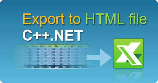 Export Data To Html File In C Net In 2020 Reading Data Excel Workbook