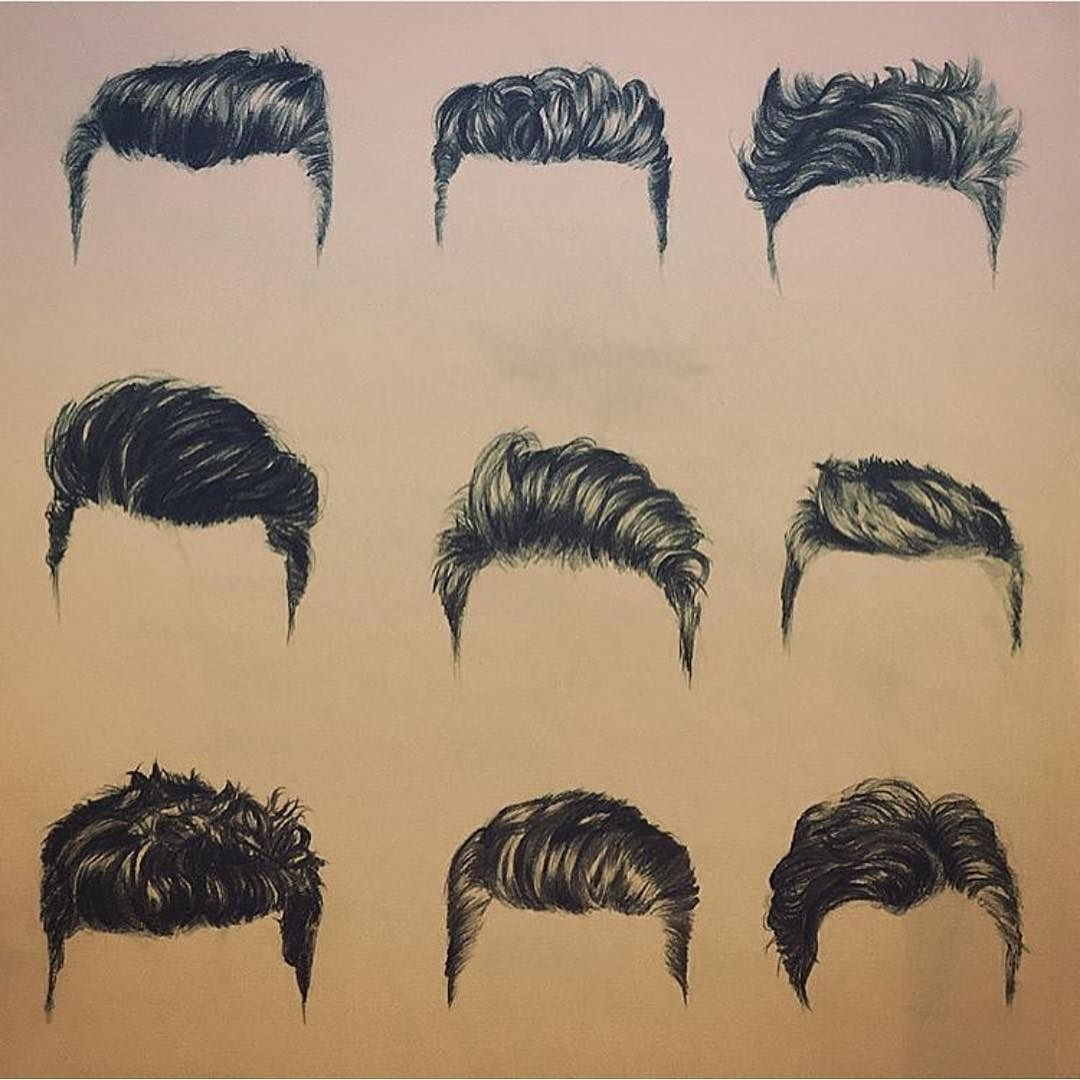 Pick your haircut and show this to your fellow hairstylist or ...
