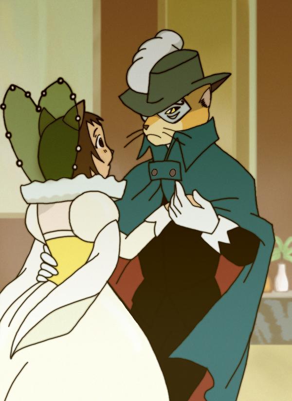 Trust Me Haru and Baron's romantic cat dance in the
