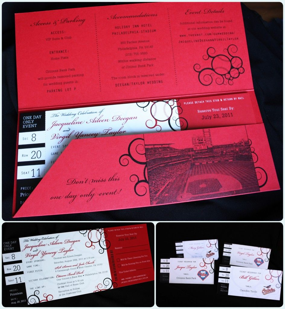 Baseball wedding invitations | Baseball Wedding | Pinterest ...