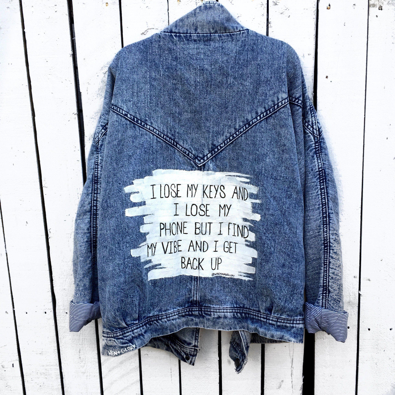 Lose My Keys Denim Jacket Denim Ideas Diy Denim Jacket Jackets [ 2448 x 2448 Pixel ]